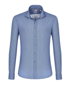 LONG-SLEEVED PRINTED COTTON SHIRT BUTTON DOWN_0