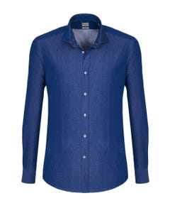 LONG-SLEEVED SHIRT IN CHAMBRAY BUTTON DOWN_0