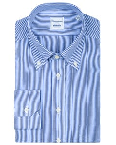 SLIM FIT NON IRON SHIRT WITH BUTTON DOWN COLLAR OSLO 35B  - BUTTON DOWN_0