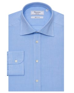 LIGHT BLUE SHIRT REGULAR FIT WITH SEMI FRENCH COLLAR PAVIA NEW FRENCH COLLAR_0
